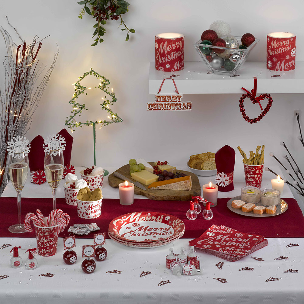 Stylish ways to dress your christmas table neviti blog - Decor de table noel ...