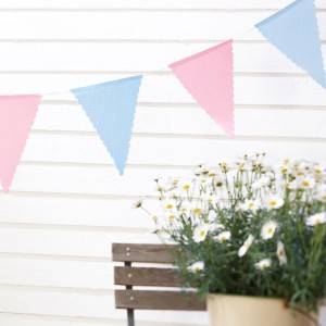 Vintage Rose Tea Party Bunting