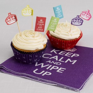 Keep Calm Cake accesories