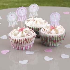 Frills & Spills Cupcake Decorations