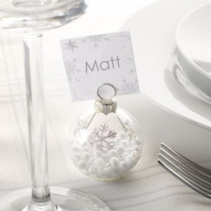 Wedding Bauble Place Card Holder
