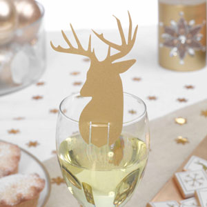 New Years Party Ideas Glass Decorations