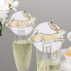 Baby Shower Glass Decoration Ideas