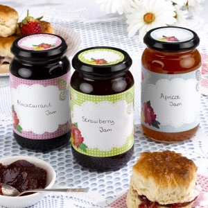 Mother's Day Jam Jar Lables