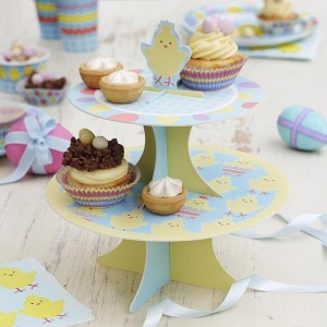 Easter Activities Cake Stand