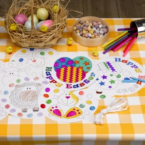 Easter Activities Colour in Bunting