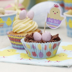Easter Activities Cupcake Cases & Picks