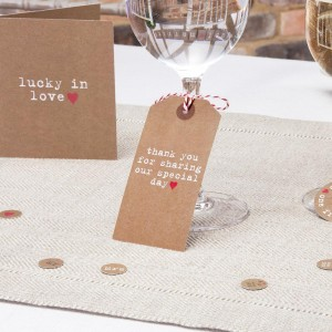Vintage Wedding Tag Ideas