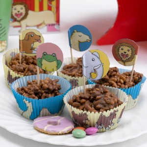 Dear Zoo Cupcake Cases & Picks