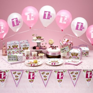 Girls 1st Birthday Party Ideas
