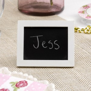 Summer Wedding Ideas Chalk Board Place Cards