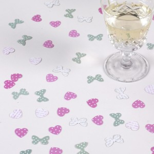 Summer Wedding Ideas Table Confetti